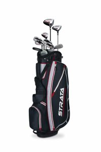 1. Callaway Men's Strata Complete Golf Club Set with Bag