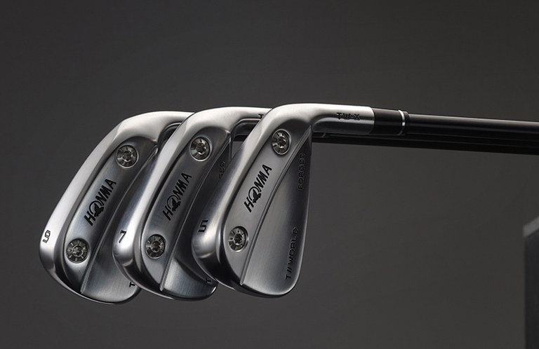 Honma T//World-X irons bring Justin Rose's utility irons to the rest of the set—all the way to the gap wedge