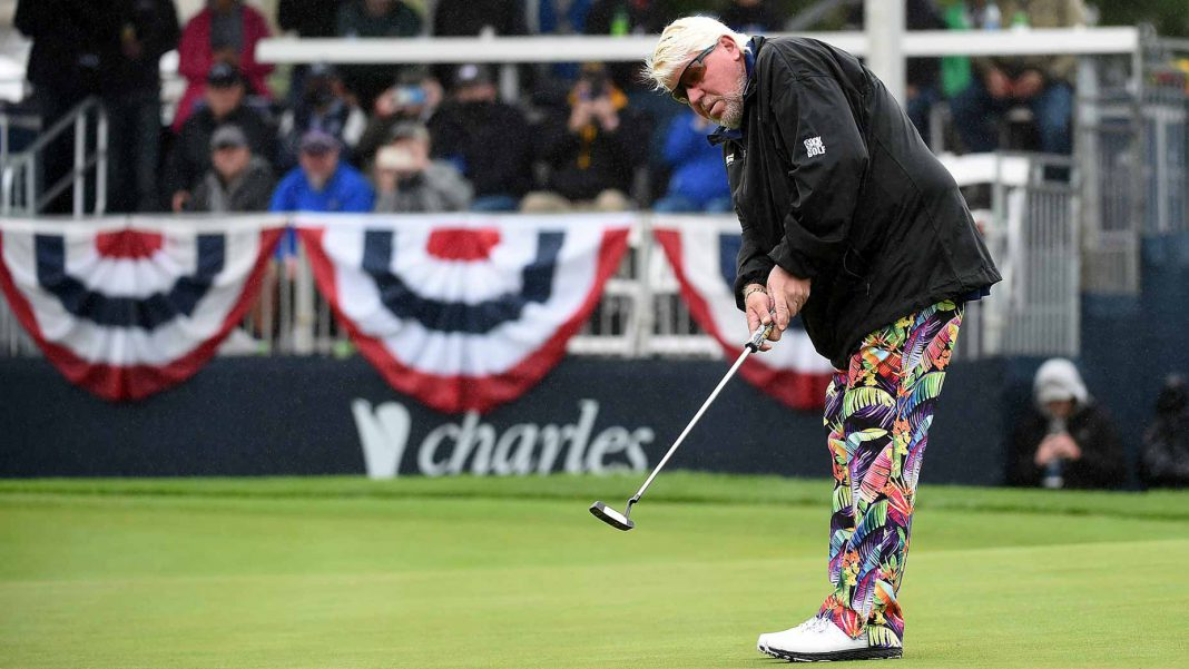 John Daly shoots 68 on Champions Tour days after revealing cancer diagnosis